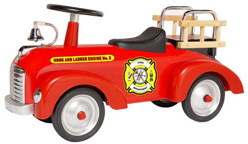 Morgan Cycle Fire Engine Scoot-ster